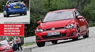 volkswagen tsi vs gti vwvortex com autocar mk7 golf gti performance ed vs ford focus st