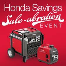 honda power equipment special offers