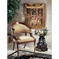 Egyptian Chair Egyptian Chairs Egyptian Home Com Furniture Like Cleopatra