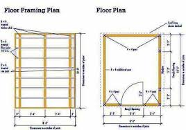floor plans for sheds 8 10 storage shed plans blueprints for constructing a garden shed