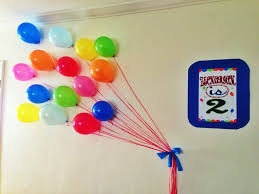 wall decoration for birthday home designing inspiration amazing