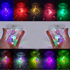 battery operated floating pool lights hi lumix multicolor floating underwater led light battery powered