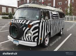 minivan volkswagen hippie norwalk ct august 15 2014 iconic stock photo 240913714 shutterstock