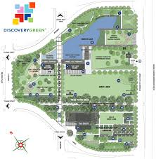 houston event map discovery green park map discovery green houston
