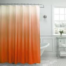 Orange Shower Curtains Orange Shower Curtains For Less Overstock Vibrant Fabric