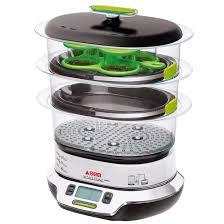 cuisiner vapeur cuit vapeur vitacuisine compact vs404300 gris argent seb la redoute