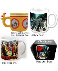 the beatles coffee mugs choose your design