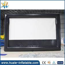 rear projection inflatable movie screen rear projection