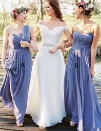 lavender bridesmaids dresses exquisite sheath one shoulder floor length lavender bridesmaid