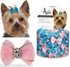 dog ribbon sparkle maddie hair bows dog satin grosgrain ribbon pet