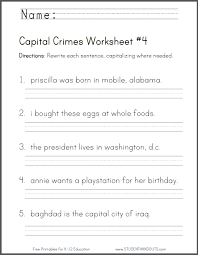 capital crimes worksheet 4 free to print pdf file common