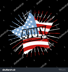 Star Flags Independence Day America Emblem Star Flag Stock Vector 422586925