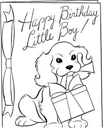 happy birthday boy coloring u0026 coloring book