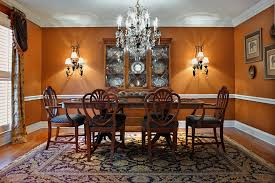 Magnificent Orange Dining Room Ideas For Your Small Home Interior - Orange dining room