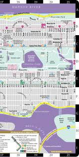 Manhatten Subway Map by Streetwise Manhattan Map Laminated City Street Map Of Manhattan