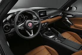 mazda roadster interior fiat gets back to its roadster roots with new 124 spider