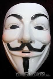 plain mask plastic plain white fawkes anonymous mask version 1 3 99