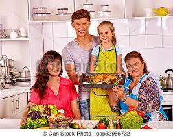 cuisine famille cuisine famille kitchen enfant grand père poulet photos