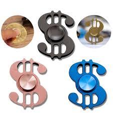 boxer dog fidget spinner dollar aluminum hand finger spinner fidget desk focus toy torqbar