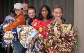 thanksgiving blanket drive prayer network