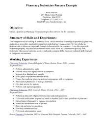 Resume Examples For Pharmacy Technician by Smartness Pharmacy Technician Resume Sample 15 Objectives Of A In
