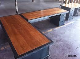 Office Desk Vintage Custom Vintage Industrial Office Furniture Vintage Industrial