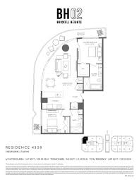 55 Harbour Square Floor Plans by Brickell Heights West Bh02 Miami Real Estate Trends
