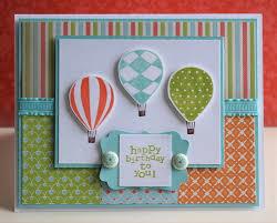 birthday card made using stampin u0027 up products stampin u0027 up