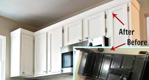 crown molding ideas for kitchen cabinets kitchen cabinet crown molding ideas cabinets best 25 on