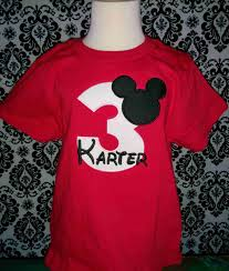 mickey mouse shirts
