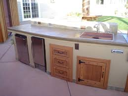 plywood raised door hazelnut outdoor kitchen cabinet doors