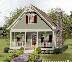 cottage house designs plan 20115ga cozy cottage with bedroom loft bedroom loft