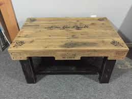 coffee table fabulous pallet bench ottoman coffee table wood