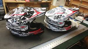 motocross helmet cam couple new helmets for the 2017 season moto related motocross