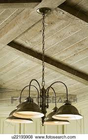 Wood Beam Light Fixture Pictures Of Light Fixture Hanging From Wood Beam Ceiling U22193908