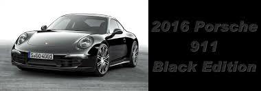 porsche 911 black edition 2016 porsche boxster 911 black edition for sale chicago il