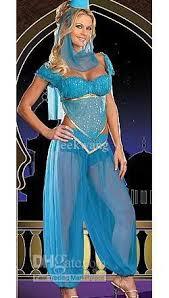 Belly Dancer Halloween Costume Lingerie Belly Dancer Arabian Princess Jasmine Halloween