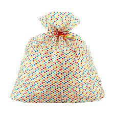 jumbo dots gift bag the container store