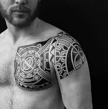 polynesian chest to shoulder best ideas gallery