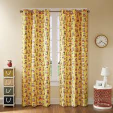 Yellow Window Curtains Yellow Window Curtain Panel From Buy Buy Baby