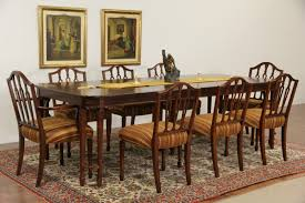 sold sheraton 1940 u0027s vintage dining set 8 chairs table u0026 2