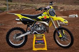 85cc motocross bikes bonus race kit for suzuki u0027s 85cc powerhouse bike review