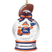 denver broncos snow globe ornaments your 1st one is free the