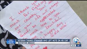 Thank You Letter Veterans veteran thank you note
