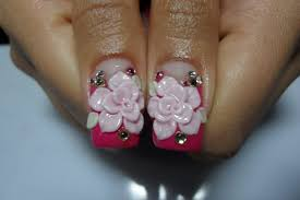 3d bow nail art how you can do it at home pictures designs 3d