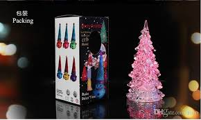 decorations gifts mini led tree with light