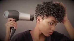 3c hair shape natural hair style wash go on tapered cut tutorial talk