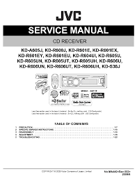 jvc kd gs711 service manual download schematics eeprom repair
