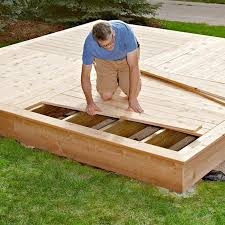 How To Build A Backyard Patio by 25 Best Ground Level Deck Ideas On Pinterest Wood Patio Simple
