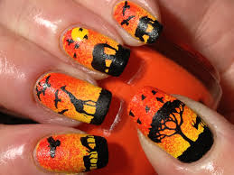 16 amazing designed nails from your dreams africa lion king